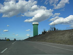Arnold Water Tower from I-55 North.JPG