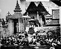 Arrival of the King of Siam at the Temple of Sleeping Idol Wellcome L0020127.jpg