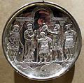 Arte costantinopolitana, piatti in argento con storie di david, 629-30, da karavas a cipro, 04.JPG