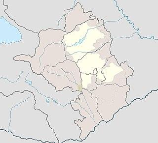 Place in Khojavend, Azerbaijan