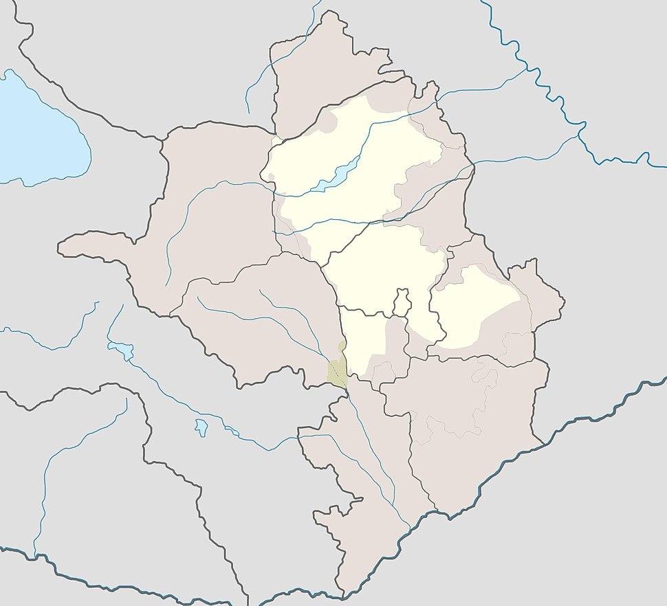 Gtichavank is located in Republic of Artsakh