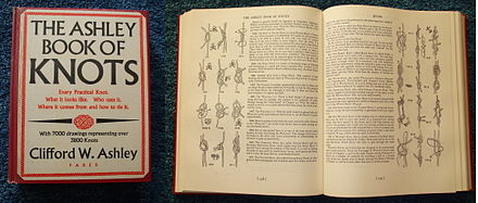 The Ashley Book of Knots is considered the definitive work on the topic AshleyBook.jpg