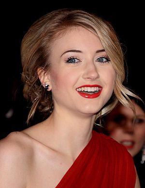 British actress Ashley Slanina-Davies at the N...
