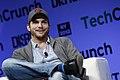 Ashton Kutcher of A-Grade speaks onstage at TechCrunch Disrupt NY 2013, 2.jpg