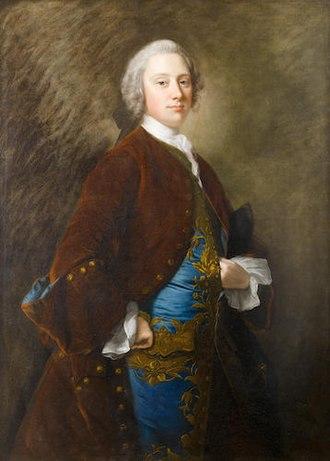 Assheton Curzon, 1st Viscount Curzon - Painting of Assheton Curzon by Thomas Hudson