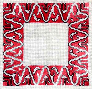 Assisi embroidery - Image: Assisi Border