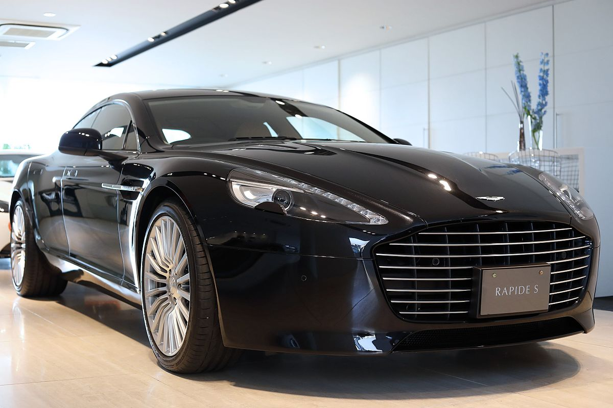Px Aston Martin Rapide S By Japan Specification