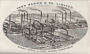 John Brown (industrialist) - Atlas Steel and Ironworks