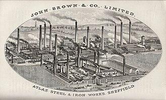 John Brown (industrialist) - Atlas Steel and Ironworks
