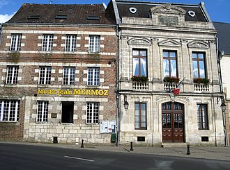 Aubenton - Jean Mermoz Museum and the Town Hall