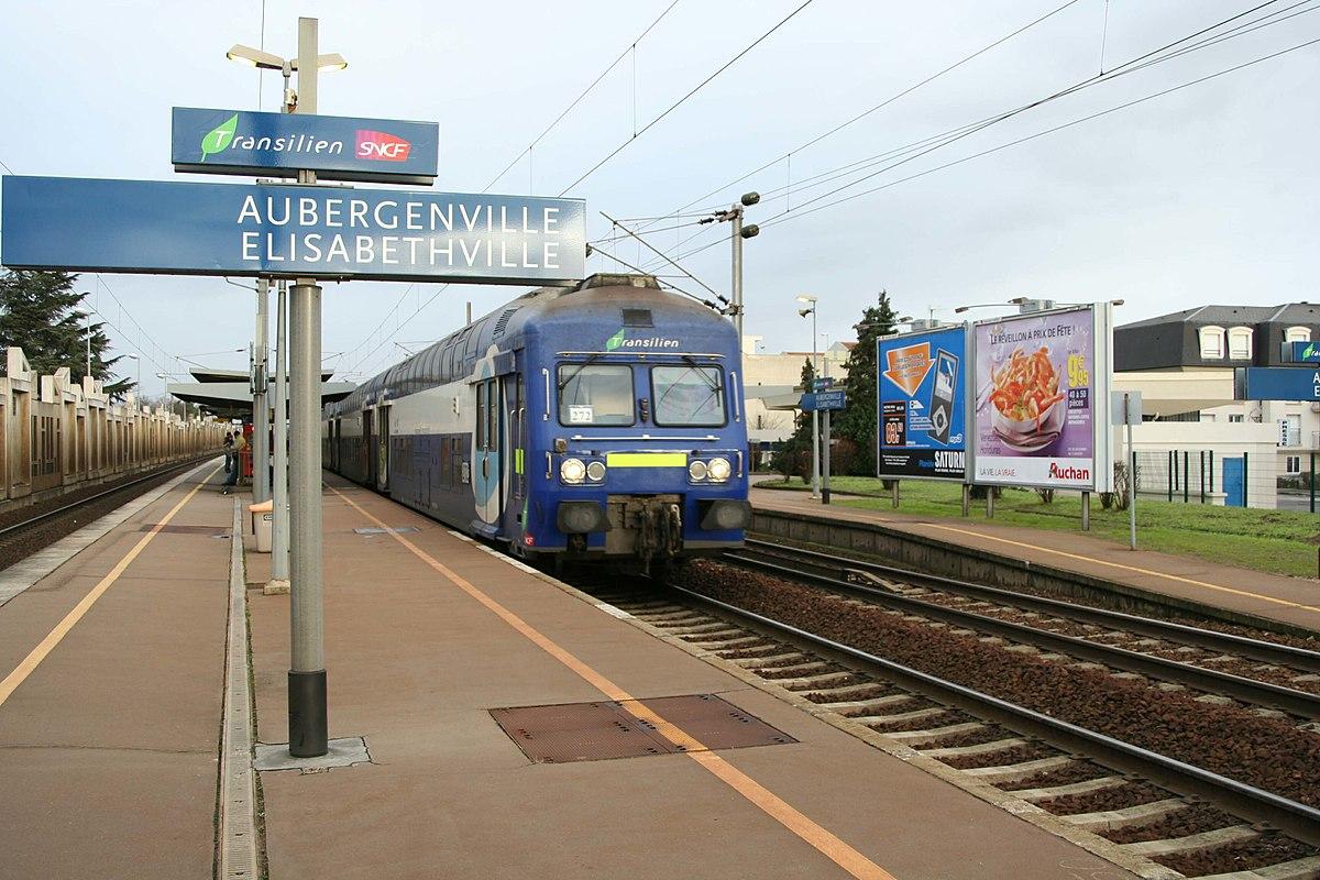 Gare d aubergenville lisabethville wikip dia - Piscine d aubergenville ...