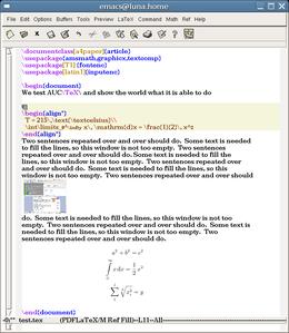 Schreibprogramm Latex