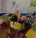 August Macke - Landschaft am Meer - 13531 - Bavarian State Painting Collections.jpg