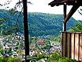 Aussichtspunkt Welzberghütte, Blick auf Calw-Hirsau, u. a. auf das Benediktinerkloster St. Peter und Paul - panoramio.jpg