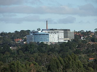 Austin Hospital, Melbourne - Image: Austin & Mercy Hospital