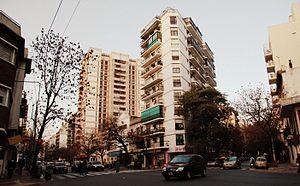 Avenida Raúl Scalabrini Ortiz - Scalabrini Ortiz Avenue and Guatemala Street