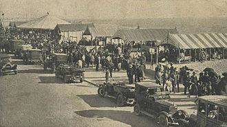 Póvoa de Varzim - Avenida dos Banhos in 1921.