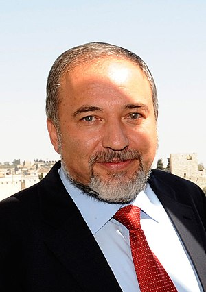 English: Avigdor Lieberman, Israeli politician