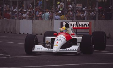 Ayrton Senna 1991 USA 3 cropped