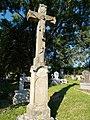 Bélapátfalva Cemetery, Crucifix (1917), 2016 Hungary.jpg