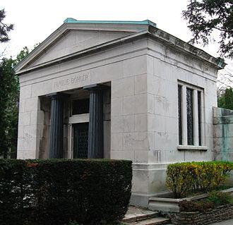 Otto Böhler - Tomb of the Böhler family