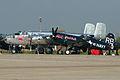 B-25J Mitchell N6123C & F4U-4 Corsair RB-37 OE-EAS (8606575798).jpg