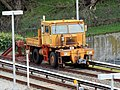 BART maintenance vehicle in Daly City Yard, March 2018.JPG