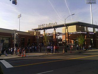 BB&T Ballpark (Charlotte) - Image: BB&T Ballpark