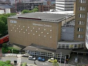 Television Centre, London - Studio TC1 at BBC Television Centre