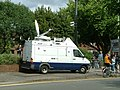 BBC standing by to film the River Severn bursting its banks - geograph.org.uk - 502975.jpg