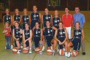 BC Marburg Team 2005 Damen Basketball Bundesliga Peter Voeth 200510