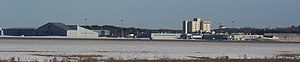 Bangor International Airport - Image: BGR Across Field
