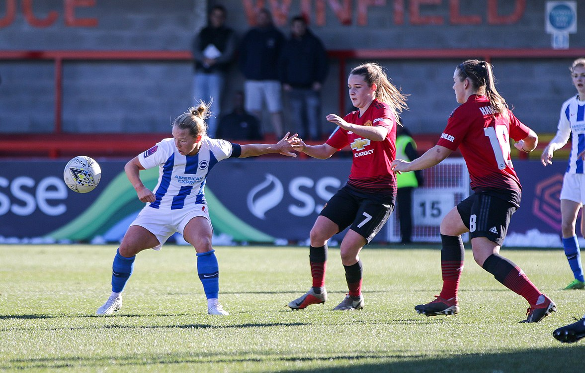 BHA Women 0 Man Utd Women 2 WFAC 4th rd 03 02 2019-760 (46934196532).jpg