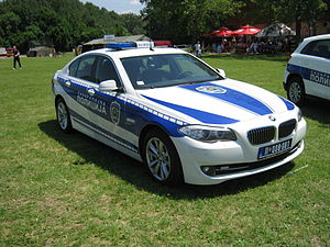 Law enforcement in Serbia - Image: BMW F10 Serbian Police
