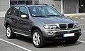 BMW X5 (E53, Facelift) – Frontansicht, 12. Juni 2011, Düsseldorf.jpg