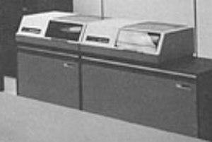 Controller (computing) - Image: BRL64 IBM 1311 Disk Drives