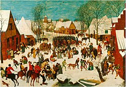 BRUEGEL the Elder, Pieter - Massacre of the Innocents (1565-7).JPG