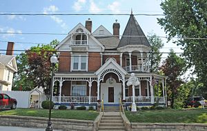 National Register of Historic Places listings in Upshur County, West Virginia - Image: BUCKHANNON CENTRAL RESIDENTIAL HISTORIC DISTRICT, UPSHUR COUNTY, WV