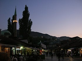 Baščaršija by night.jpg