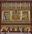 Bad Doberan, Münster, Kreuzaltarretabel, Christusseite mit Predella, um 1368, Mittelteil. S.JPG