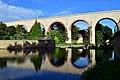 Baden - Aquädukt der Wiener Hochquellenwasserleitung die Schwechat querend.jpg