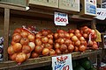 Bags of onions for sale in Naha 2015.jpg