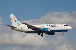Bahamasair - Bahamasair Boeing 737-500