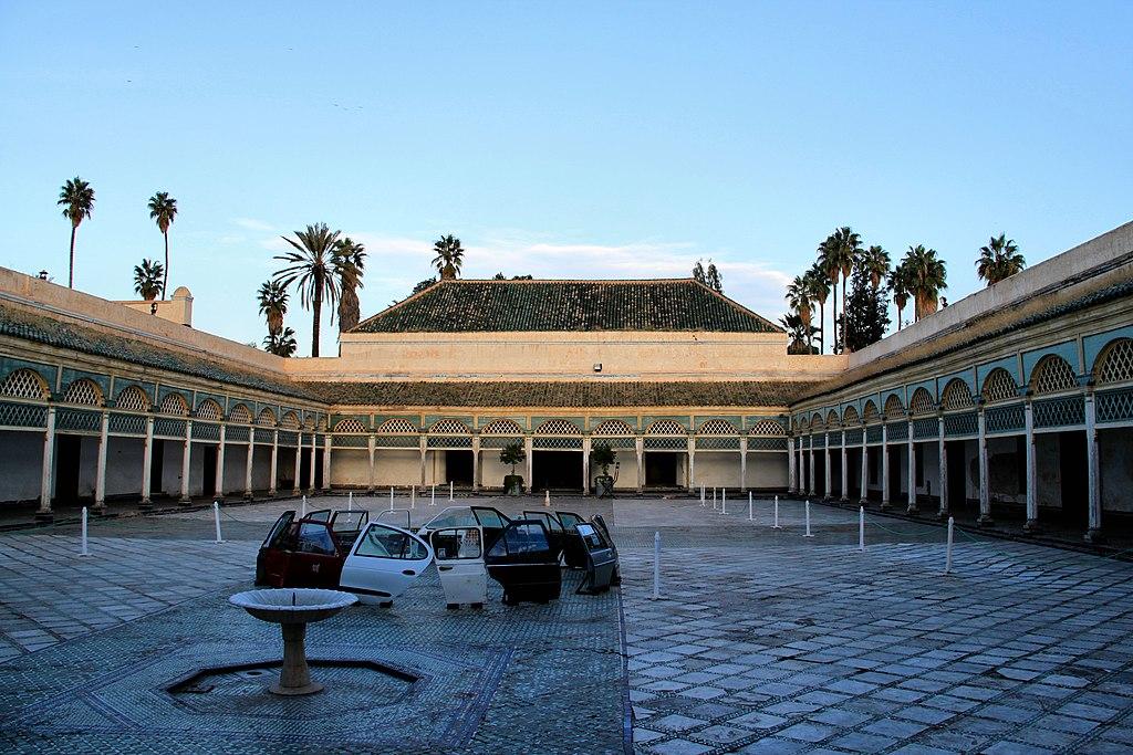 Bahia Palace Marrakech Back Courtyard LL.JPG