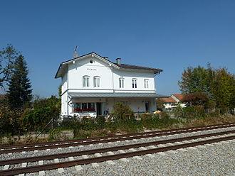 Pforzen - former railstation Pforzen