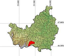 Vị trí của Baisoara