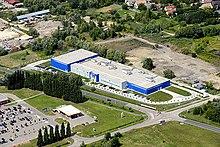 Foto aerea della sede di Balatonboglár di Datalogic Hungary, Ltd.