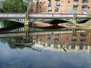 Listed buildings in Sheffield S3 - Image: Ball Street bridge geograph.org.uk 979858