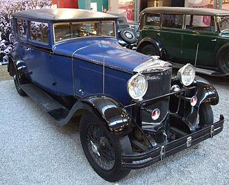 Ballot (automobile) - Ballot Berline RH3, 1930, Cité de l'Automobile, Mulhouse, France
