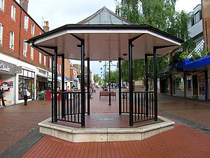 Burgess Hill - Image: Bandstand Burgess Hill
